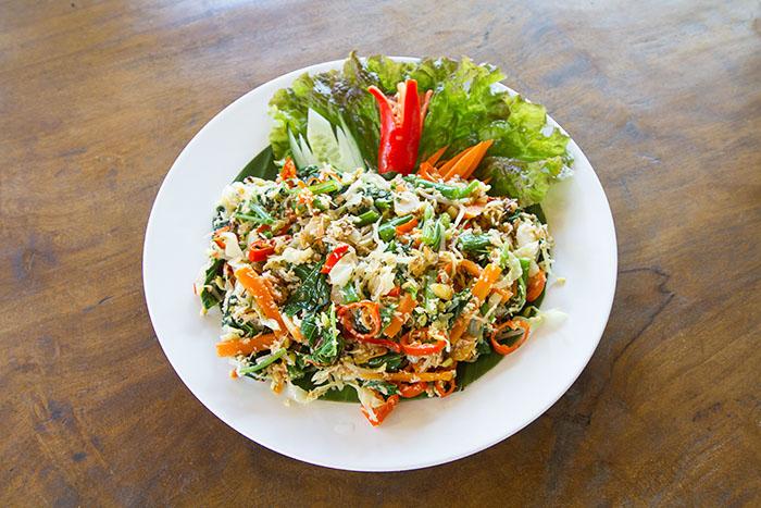 Bali best dish Sayur Urab