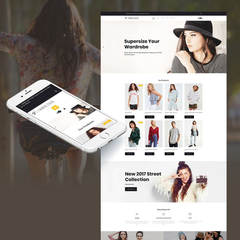 Fashion Store Online Conversion